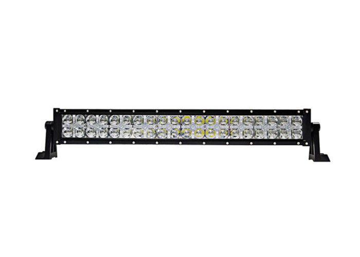 21 Inch  LED Off Road Driving Lights 120W 7D LED Light Bar Adjustable Bracket